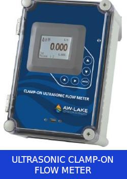AW Lake Flow Meter Ultrasonic Clamp On